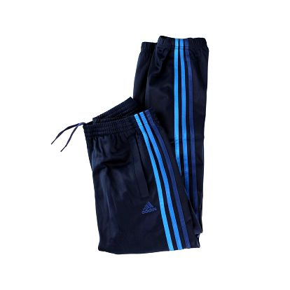 Dětské kalhoty na volný čas - Adidas ESS 3S POLY PANT modrá