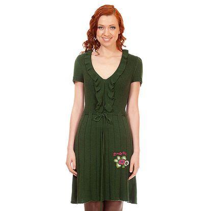 Dámské zelené šaty Rosalita McGee