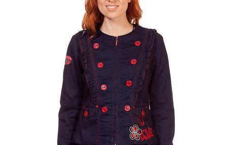 Dámský tmavě modrý kabátek Rosalita McGee