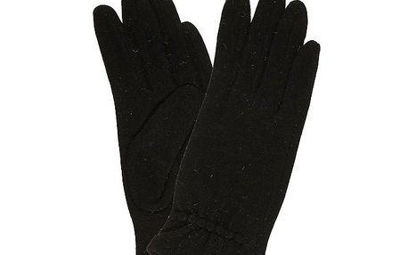 Dámské černé rukavice Rosalita McGee
