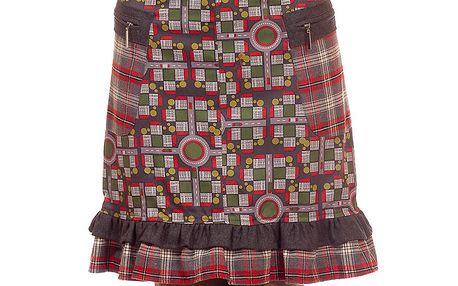 Dámská barevná sukně s kanýrkem Rosalita McGee