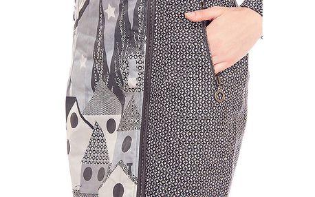 Dámská šedá sukně s potiskem Rosalita McGee