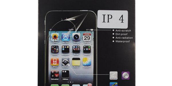Transparentní ochranná folie na iPhone 4 a poštovné ZDARMA! - 33500121