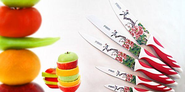 Sada švýcarských titanově - keramických nožů