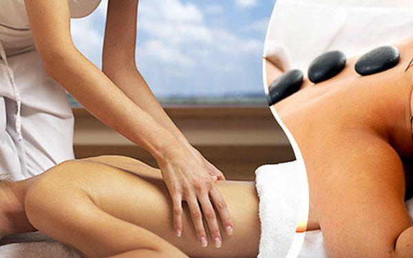 60minutová masáž celého těla. Výběr z 6 druhů