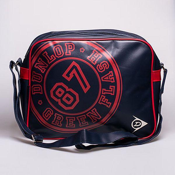 Dunlop taška přes rameno tmavě modrá s červenou