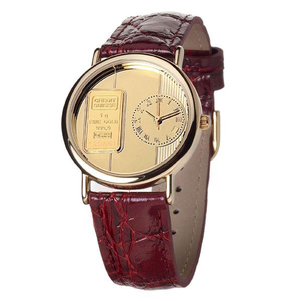 Pánské hodinky Yves Camani Harmonie hnědé