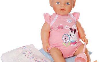 BABY born My little Baby Born Vyměň mi plenku - je jako opravdová!