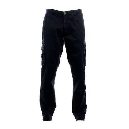 Pánské tmavě modré kapsáčové kalhoty Aeronautica Militare
