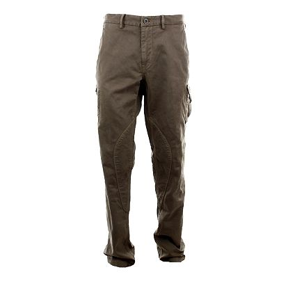 Pánské šedohnědé kapsáčové kalhoty Aeronautica Militare