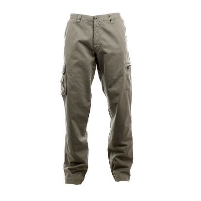 Pánské šedé kapsáčové kalhoty Aeronautica Militare