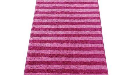 Osuška Stripes JOOP!, 80 x 150 cm, růžová