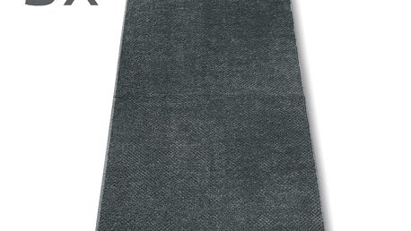 Ručník s.Oliver šedý, 50 x 100 cm, sada 3 ks