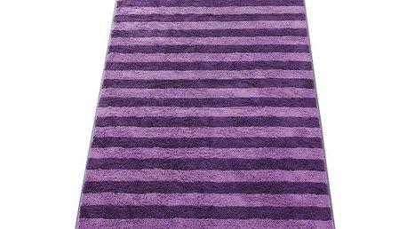 Osuška Stripes JOOP! fialová, 80 x 150 cm
