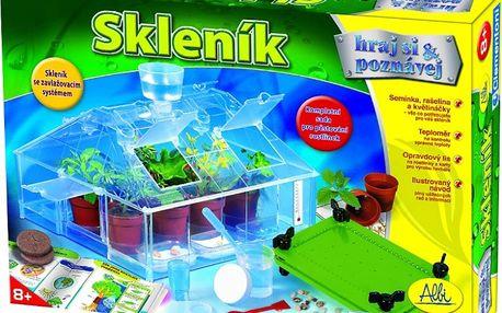 Sada Albi skleník. Vypěstujte si vlastní rostlinky ze semínek. Pro děti od 8 let.