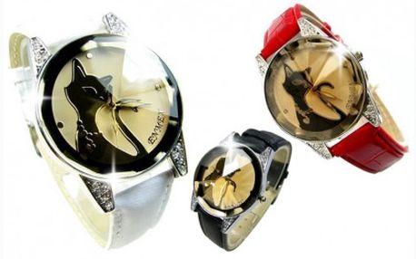 Krásné a luxusní dámské značkové hodinky Swarovski Enmex Pure Look. Velmi originální zpracování, které vám bude určitě slušet!