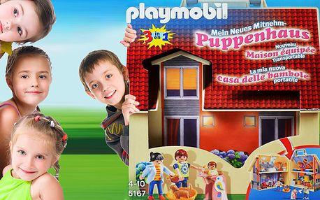 Rozkládací domeček pro panenky