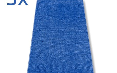Ručník s.Oliver tmavě modrý, 50 x 100 cm, sada 3 ks