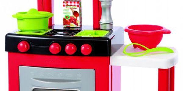 """ECOIFFIER Kuchyňka Pro-cook vybavena """"plynovými"""" hořáky a troubou"""