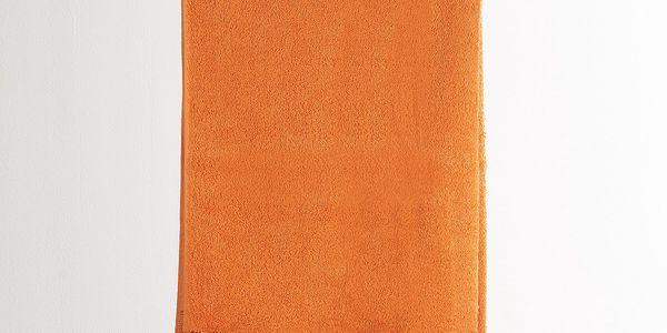 4Home osuška Verona oranžová, 70 x 140 cm, 70 x 140 cm