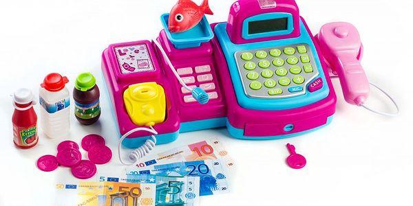 Teddies elektronická pokladna s doplňky do každého dívčího pokojíku