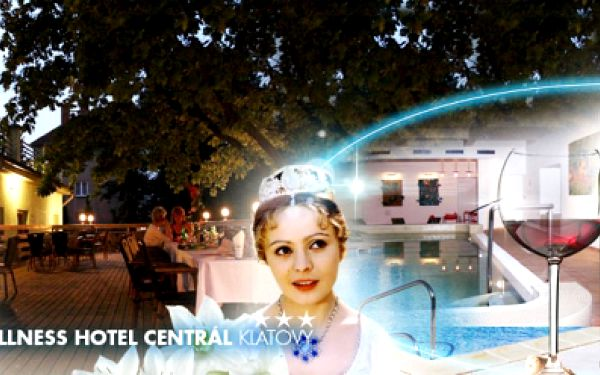 Cenová bomba! Nabitý zážitkový pobyt v oblíbeném hotelu Wellness Centrál Klatovy***! Až 6 DNÍ pro DVA včetně POLOPENZE, WELLNESS, SAUN, BAZÉNU, vstupenky do katakomb a na výstavu Po stopách Popelky! To vše od 3699 Kč!
