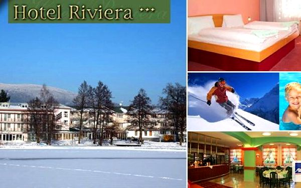 Pobyt pro 1 osobu nedaleko skiareálu Plešivec a zároveň nedaleko věhlasných lázní Karlovy Vary v hotelu Riviéra*** s polopenzí, volným užíváním bazénu a vířivky, slevou na skipas a mnoho dalšího.