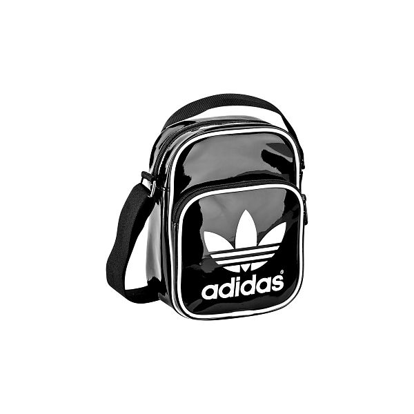 Stylová taška Adidas MINIBAG PATENT z lesklého materiálu