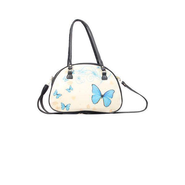 Dámská kabelka s potiskem motýlů Elite Goby
