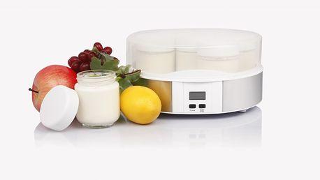 Digitální automatický jogurtovač GUZZANTI GZ 700 spolu se 7 kelímky