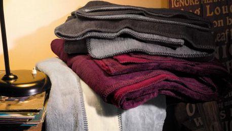 Příjemná deka s.Oliver 1170 béžová/hnědá