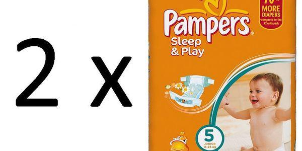 Kvalitní plenky Pampers Sleep&Play 5 Junior - 148ks