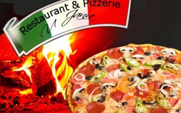 Restaurant a pizzerie U Jana! Sleva na VEŠKERÁ JÍDLA z jídelního lístku!! Nejlepší PIZZA z kamenné pece, těstoviny, steaky, ryby, dezerty a další!!