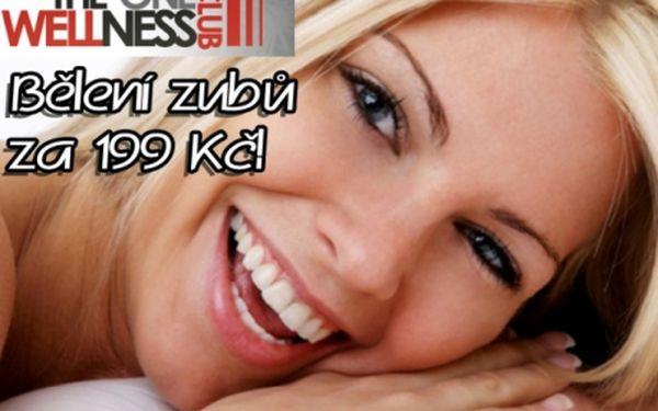 Nejlevnější BEZPEROXIDOVÉ BĚLENÍ ZUBŮ od profesionálů. Zářivě bílé zuby jen za 199 Kč!!! Ošetření přístrojem Whiten LED pro zuby bělejší o 2 až 8 odstínů. Studio The One Wellness!!!.