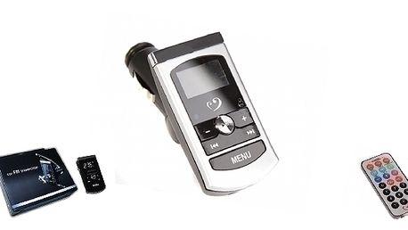 TRANSMITER FM MP3, do každého automobilu.