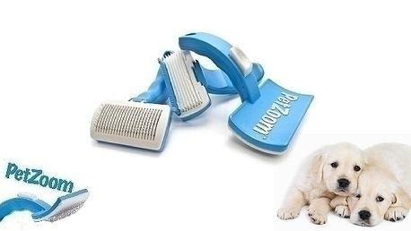 Kartáč pro Vaše pejsky a kočky PetZoom.