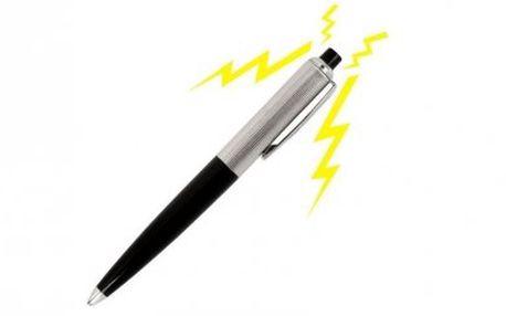 Udělejte si legraci z kolegů či přátel s tímto elektrošokovým perem!! Zaručená legrace! Dnes v 50% slevě!