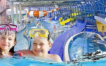 10 celodenních vstupů do Aquaparku Olomouc