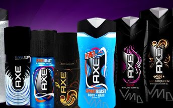 Pánský deodorant + sprchový gel AXE