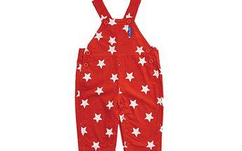Červené lacláče s hvězdičkami