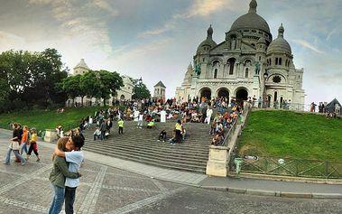 Víkendový výlet: zpáteční letenka Praha - Paříž, odlet 07.02.2014, návrat 09.02.2014