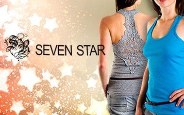 Dámská tílka Seven Star s krajkovými zády