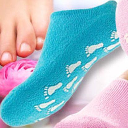 Máte suchou a popraskanou kůži na nohou? Trápí vás kuří oka? Hydratační gelové ponožky pro krásnou pokožku jsou přesně to pravé! Obsahují vitamíny a minerály!