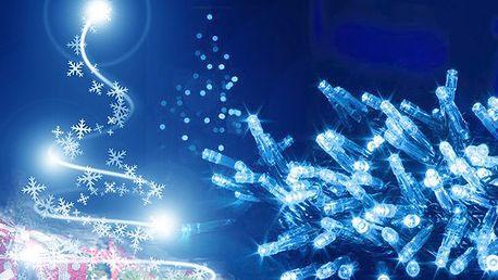 Vánoční LED osvětlení na stromeček. Unikátní a úsporné řešení pro rozsvícení vašeho vánočního stromečku. Diody mohou svítit nebo blikat! Vánoce se blíží!