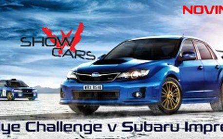 Staň se na 30 min řidičem legendární rallye káry Subaru Impreza WRX STI a prožij neskutečný zážitek