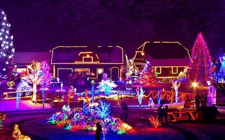 Vánoční světelný LED řetěz do exteriéru