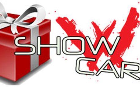 Dárkové balení voucheru Showcars
