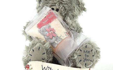 With Love - nejoblíbenější plyšový medvídek Me to You s krémovou pěnou do koupele.