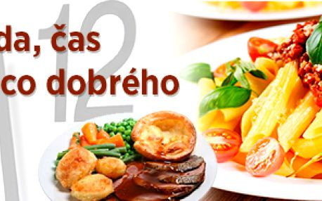Oběd v restauraci Mototechna Praha 5
