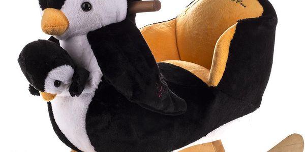 Houpací křesílko - Tučňák + malý tučňák